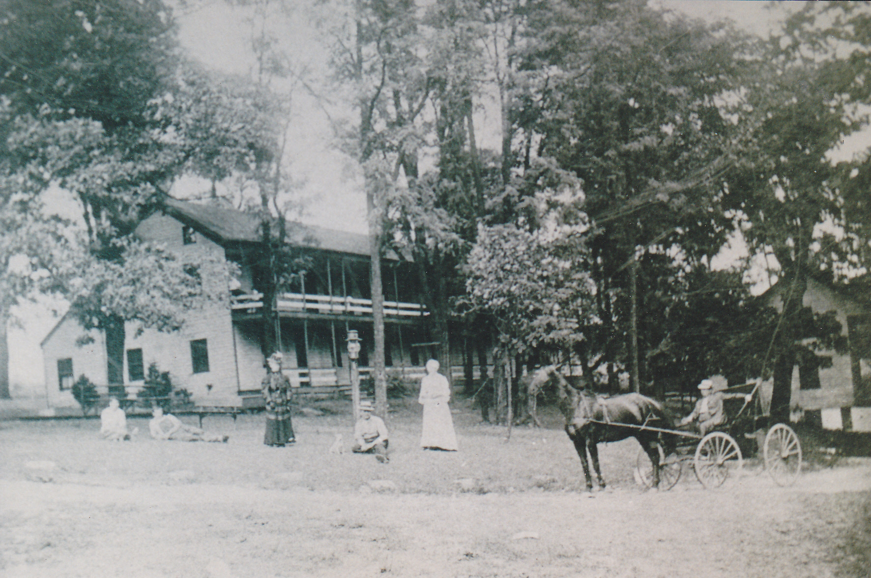 Hotel in Frankfort springs  1890