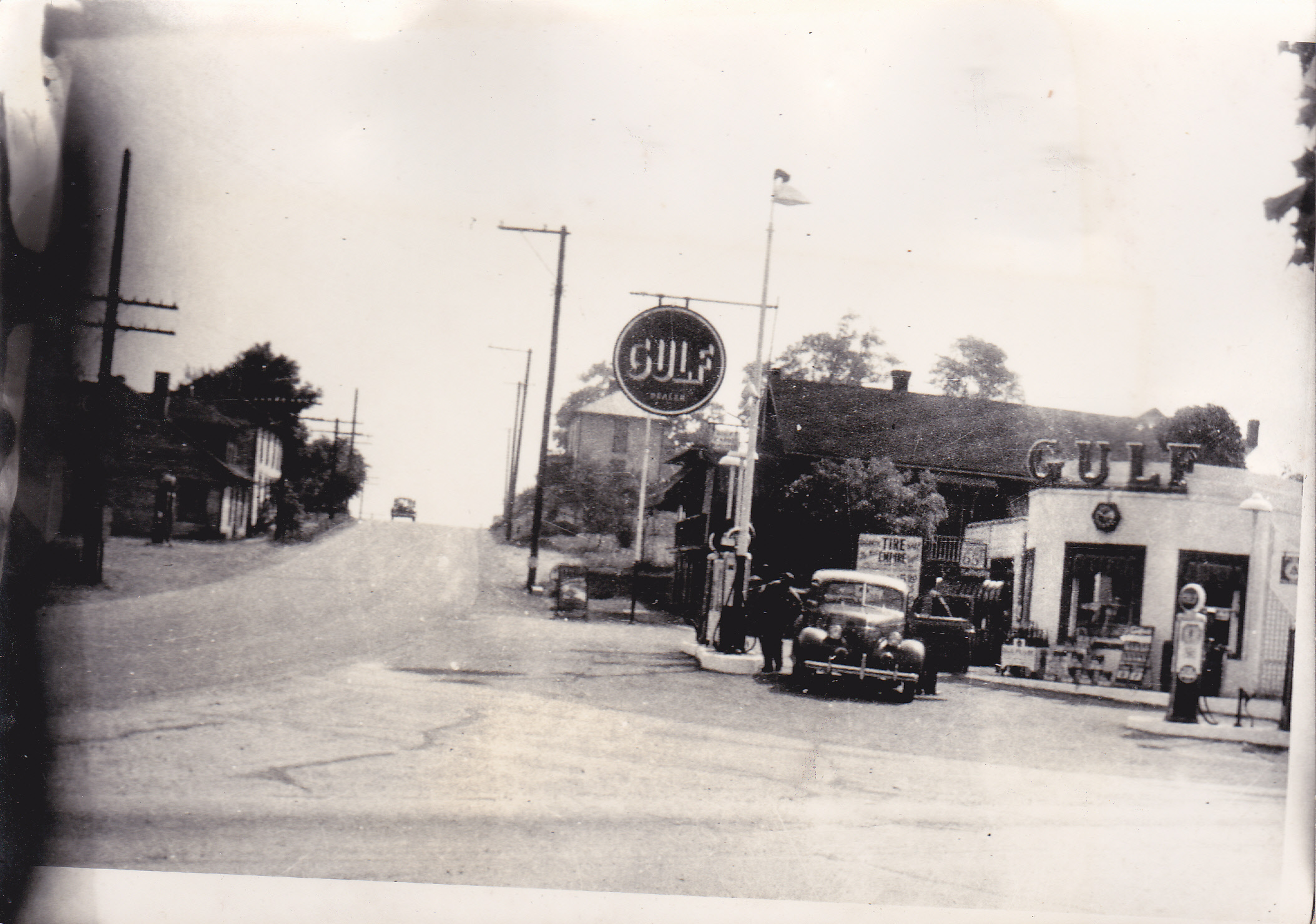 GULF GAS STATION IN FLORENCE Later it was AMOCO